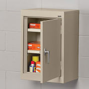 "SANDUSKY LEE Wall-Hung Cabinet with Steel Doors - 18x12x26"" - Putty"