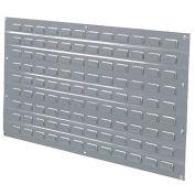 Louvered Wall Panel, 48x61, Gray