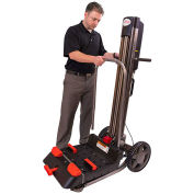 Magliner LPS4814NA1 LiftPlus Folding Battery Powered Lift Truck, Vice Clamp Platform
