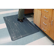"7/8"" Antimicrobial Tile Top Antifatigue Mat, 24x36 Charcoal"
