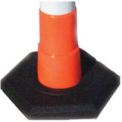 Plasticade Products 650-RB-16 Rubber Base 16 Lb For Navicade Delineator Post