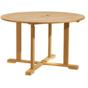 "48"" Round Outdoor Dining Table - Teak"