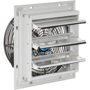 "10"" Exhaust Ventilation Fan With Shutter, Single Speed With Hardware"