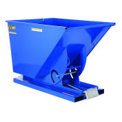 1.5 Cu. Yd. Self-Dumping Steel Hopper with Bump Release, 6000 Lb., Vestil D-150-HD