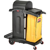 Rubbermaid® High Security Healthcare Cleaning Cart