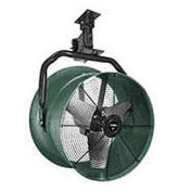 """Triangle Engineering 30"""" Oscillating Vertical Mount Fan W/Poly Housing 1 HP 10600 CFM Single Phase"""