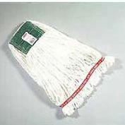 """Web Foot® Wet Mop Heads, 5"""" Headband - Pkg Qty 6"""