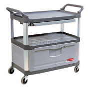 RUBBERMAID Xtra™ Instrument Cabinet Cart & Sliding Shelf