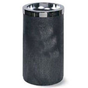 Rubbermaid Classic Smoking Urn, Black/Chrom