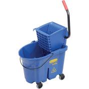 Rubbermaid WaveBrake Side Press Mop Bucket & Wringer Combo