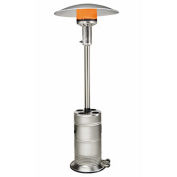 SunStar Patio Propane Heater, 40000 BTU, Stainless Steel
