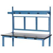 """72""""W Panel Mounting Kit - Blue"""