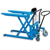 """BISHAMON SkidLift Manual Pallet Positioners - 2200-Lb. Capacity - 27""""Wx42-1/2""""L Forks"""