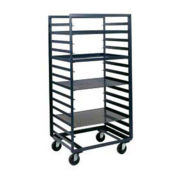 "Durham Mfg Mobile Steel Pan & Tray Rack, 9 Tray Capacity, 33""W x 24""D  x 67""H"