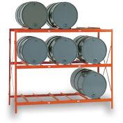 MECO Drum Storage Racks - 9 Drums