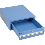 "6""H Drawer for 30""D Workbench, Blue"