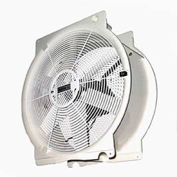 "Vostermans T4E5003M81100 20"" Mobile Indoor Outdoor Greenhouse Fan 1/3 HP 4,765 CFM"