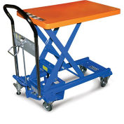 SOUTHWORTH Dandy Lift Mobile Scissor Lift Tables - 770-Lb. Capacity