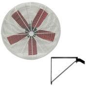 """Multifan 24"""" Wall Mount Basket Fan 1/3 HP 8000 CFM"""