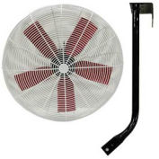 """Multifan 24"""" Ceiling Mount Basket Fan 1/3 HP 8000 CFM"""