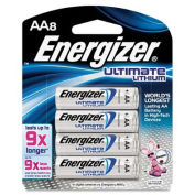 e² AA Ultimate Lithium Batteries (8 Pack)