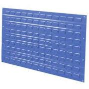 Louvered Wall Panel, Blue, 36x19 - Pkg Qty 4