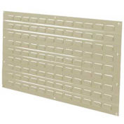 """Louvered Wall-Mount Panel - 35-3/4x19"""" - Beige - Pkg Qty 4"""