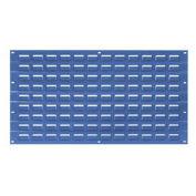 Louvered Wall Panel, 18x19, Blue - Pkg Qty 4