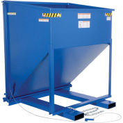 Forklift Steel Chute Hopper, 2 Cu. Yd. & 2000 Lb. Capacity, Vestil C-HOP-200