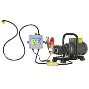 BE Pressure PE-1520EP1COMH 1500 PSI Pack-A-Round Wall Mounted Pressure Washer - 2HP, 110V