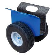 "VESTIL Heavy-Duty Panel or Slab Dolly - 1200-lb. Capacity - 8"" Rubber-on-Steel Wheels"