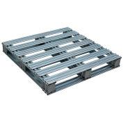36 x 36 Galvanized Steel Pallet, 8000 lbs Capacity