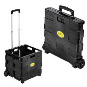"Buhl EZ Crate Folding Hand Cart, 12""x14""x33"""