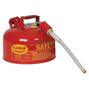 "Eagle U2-26-SX5 Type II Safety Can with 5/8"" Spout, 2 Gallons, Red"