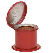 Eagle B-600-D Daub Can, Metal, Red, 1/4 qt.