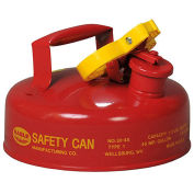 Eagle UI-4-S Type I Safety Can, 2 Quarts, Red