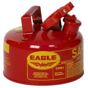 Eagle UI-10-S Type I Safety Can, 1 Gallon, Red