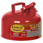 """EAGLE Type I Safety Can -11-1/4"""" Dia.x19-1/2""""H - 2-Gallon Capacity - For Flammables"""