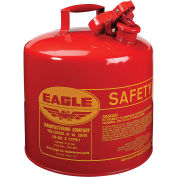 Eagle UI-50-S Type I Safety Can, 5 Gallons, Red