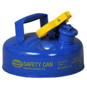 Eagle UI-4-SB Type I Safety Can, 2 Quarts, Blue