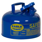 Eagle UI-20-SB Type I Safety Can, 2 Gallons, Blue
