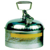 Eagle 1313 Type I Stainless Safety Can, 2.5 Gallons