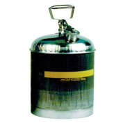 Eagle 1315 Type I Stainless Safety Can, 5 Gallons