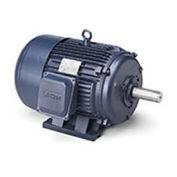 Leeson 170615.60, 15 HP, PEM, 208-220/460V, 3520 RPM, 215T, TEFC, Rigid