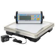 "Adam Equipment Digital Bench Scale, 33lb x 0.01lb, 11-13/16"" x 11-13/16"" Platform, CPWplus 15"