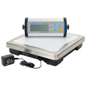 "Adam Equipment Digital Bench Scale, 165lb x 0.05lb, 11-13/16"" x 11-13/16"" Platform, CPWplus 75"