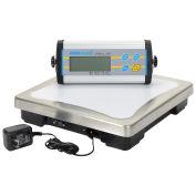 "Adam Equipment Digital Bench Scale, 330lb x 0.1lb, 11-13/16"" x 11-13/16"" Platform, CPWplus 150"