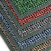NoTrax Bristol Ridge Scraper Carpet Mat, 2' x 3', Forest Green