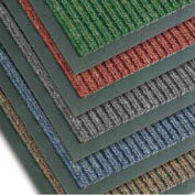 NoTrax Bristol Ridge Scraper Carpet Mat, 2' x 3', Coffee