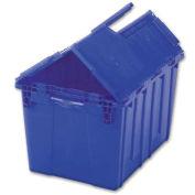 ORBIS FP143 Flipak Distribution Container - 21-7/8 x 15-3/16 x 9-15/16 Blue